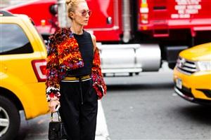 New York Moda Haftası 2015 Sokak Stili