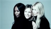 A TAKIMI: Naomi Campbell, Eva Herzigova, Claudia Schiffer