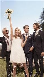 Tommy Hilfiger'dan Behati Prinsloo'lu Kır Düğünü