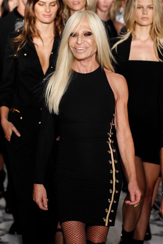Versace Kraliyeti'nin İmparatoru Donatella