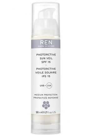 Ren Photoactive sun veil SPF 15